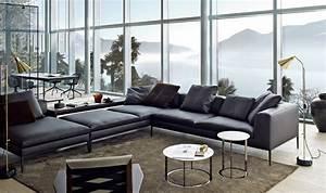 B Und B Italia : sofa in grau 50 wohnzimmer mit designer couch ~ Orissabook.com Haus und Dekorationen