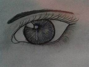 Eyes Drawing Steps for Beginners