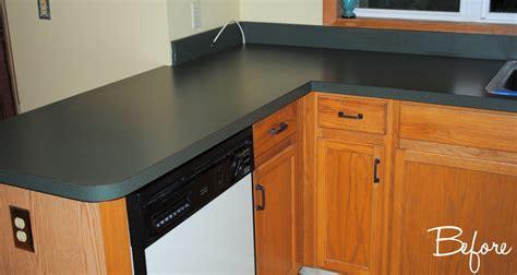 Kitchen Countertop Reveal Using The Rustoluem Countertop