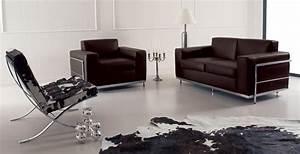 cook canape 2 places en cuir idd With tapis champ de fleurs avec canapé haut de gamme cuir