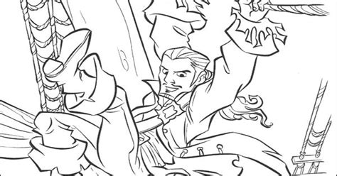 Will Turner In Action Coloring Pages