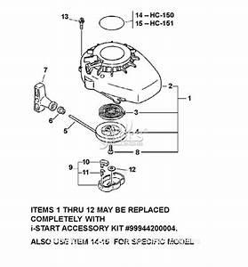Echo Hc-150 S  N  05001001