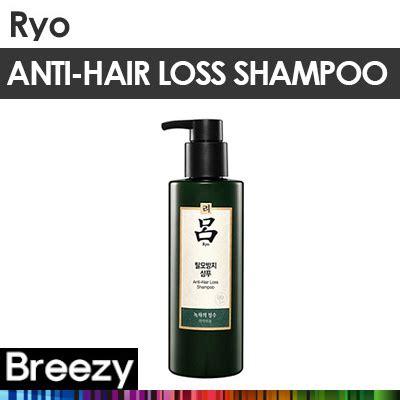 Qoo10  Breezy ★ [ryo] Prevent Hair Loss Shampoo 400ml