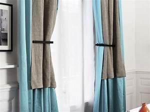 Embrases Double Rideaux : 30 id es pour habiller vos fen tres elle d coration ~ Farleysfitness.com Idées de Décoration