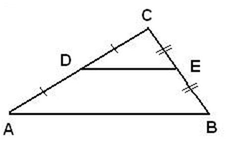 Triangle Midsegment Theorem Proof Math@tutorvistacom