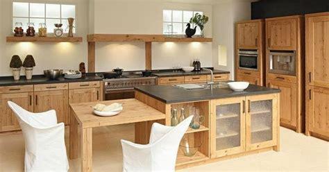 cuisiniste perene cuisine moderne en bois massif