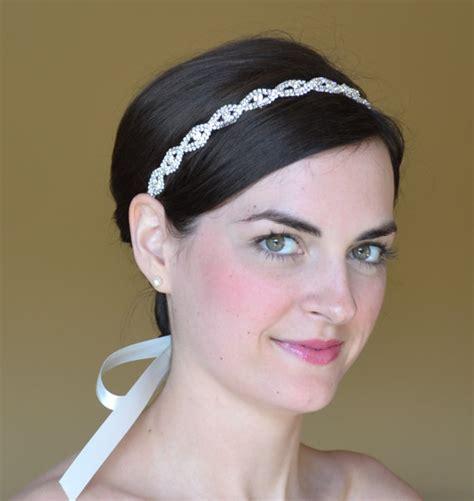 rhinestone headband bridal headband crystal diamante