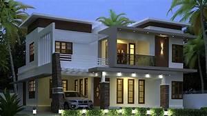 2200, Square, Feet, Contemporary, Double, Floor, Home, Design