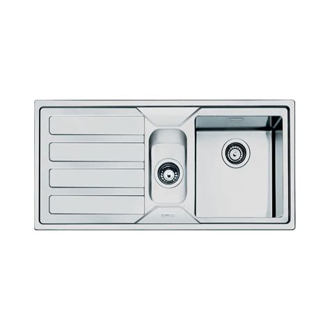 smeg kitchen sink smeg mira 1 5 bowl stainless steel kitchen sink left 2385