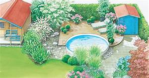 Wie Gestalte Ich Einen Garten : gestaltungsideen f r einen swimmingpool mein sch ner garten ~ Whattoseeinmadrid.com Haus und Dekorationen