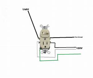Outlet Switch Combo Wiring Diagram  U2013 Volovets Info