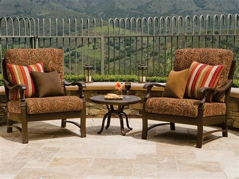 tropitone ravello cushion lounge chairs