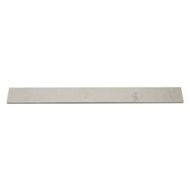 lowes marble threshold shop white marble threshold tile common 4 in x 36 in actual 3 9 in x 35 9 in at lowes com