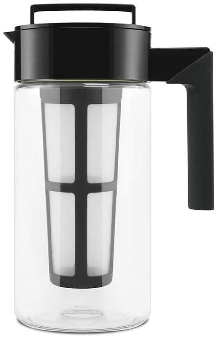 The takeya cold brew coffee maker is priced at $19.99. Takeya Patented Deluxe Cold Brew Iced Coffee Maker with Airtight Lid & Silicone Handle, 1 Quart ...