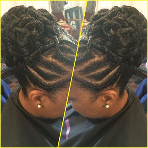 Flat Twist Ponytail Hairstyles by Up Twist Hair Designs Hair Style