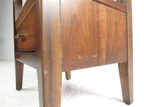 Dressers And Nightstands For Sale by Vintage Modern 15 Drawer Dresser With Nightstand For Sale