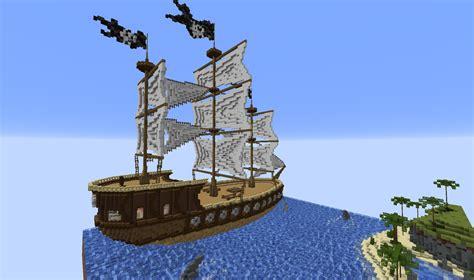 Minecraft Boat Build by Minecraft Build Pirate Ship The Reina Cubecraft