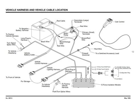 fisher snow plow wiring diagram wiring diagram and
