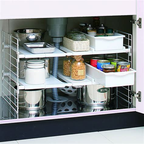 kitchen shelf storage sink shelf organizer in sink organizers 2535