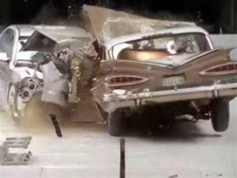 crash test  chevrolet bel air   chevrolet