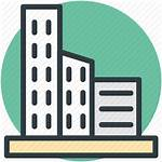 Building Icon Office Commercial Estate Icons Modern