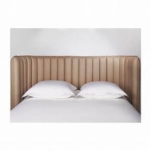 Photo Tete De Lit : boudoir t te de lit beige tissu habitat ~ Dallasstarsshop.com Idées de Décoration