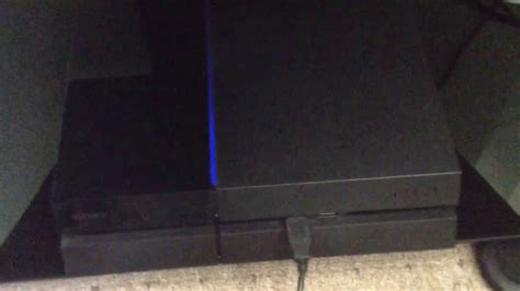 ps4 blue light of sony ps4 blinking blue light of