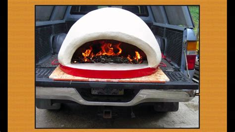 tailgate pizza oven rauls portable wood fired pizza