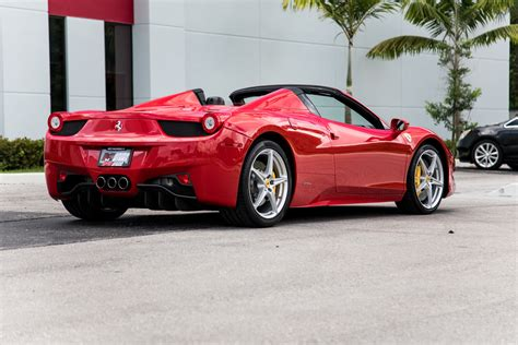 Used 458 Spider by Used 2014 458 Spider For Sale 189 900 Marino