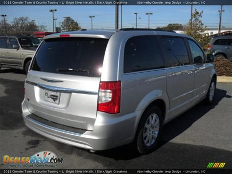 2011 Chrysler Town & Country Touring - L Bright Silver ...