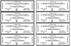 event ticket template templates for microsoftr word With ticket template for mac