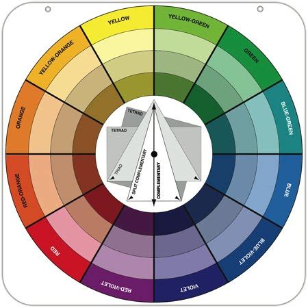 complementary color wheel blue and orange truly complementary colors room for