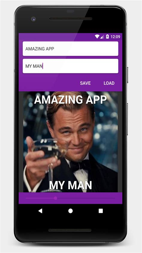 Android Meme Maker - meme generator android source code photo app templates for android codester