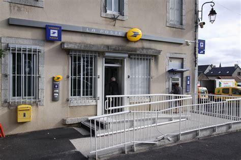 bureau banque postale les services aumont aubrac