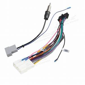 Iso Wiring Harness For The Installation Of Xtrons Td626ab