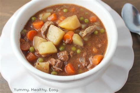 simple delicious crock pot beef stew healthy easy