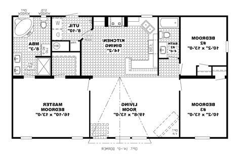 simple open house plans a 3bedroom simple floor plan