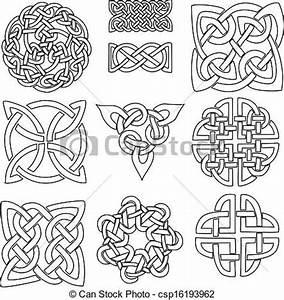 Symboles De Protection Celtique : symboles celtique tre celtique ensemble dix conceptions color pr t ~ Dode.kayakingforconservation.com Idées de Décoration