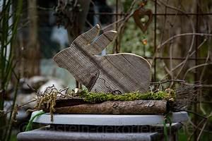Osterdeko Basteln Aus Holz : osterdekoration aus beton und holz basteln und dekorieren ~ Orissabook.com Haus und Dekorationen