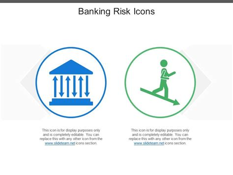 banking risk icons powerpoint design template sample