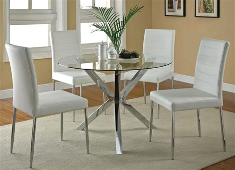 modern 5 dining set great brown angled leg