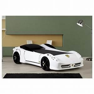 Lit Voiture Garcon : lit enfant voiture f1 turbo blanche achat vente ~ Melissatoandfro.com Idées de Décoration