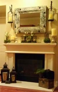 excellent rustic mantel decoration ideas 437 best images about Mantel Decorating Ideas on Pinterest ...