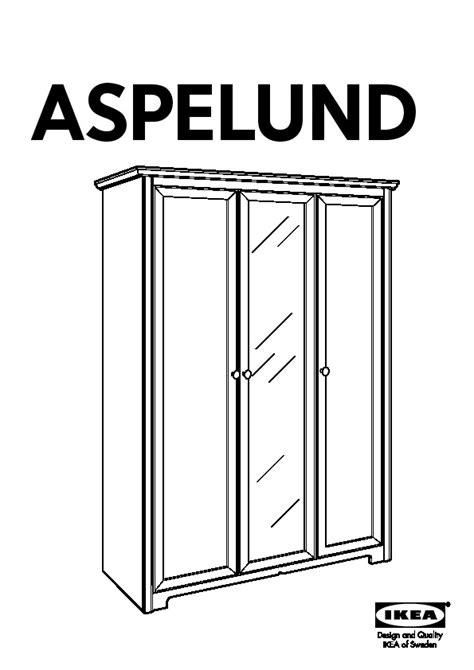 Armoire Aspelund by Ikea Aspelund Wardrobe Replacement Door Nazarm