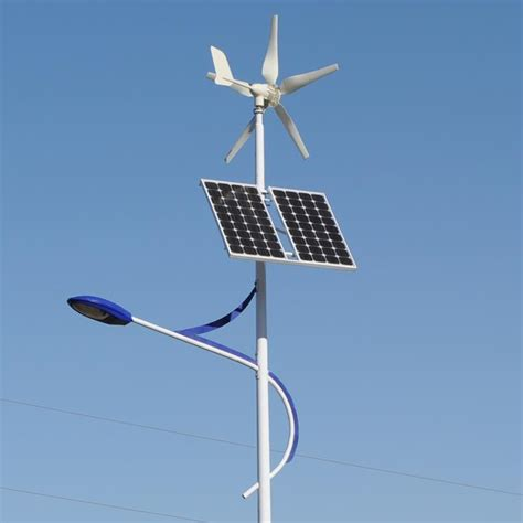 hybrid light powered by wind and solar energy