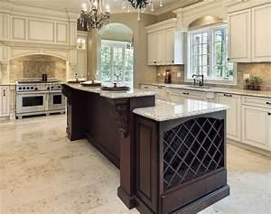 Kitchen Contemporary Kitchen Design With White Island And Glass Additional Also Kitchen Design