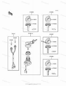 Kawasaki Atv 1988 Oem Parts Diagram For Ignition Switch