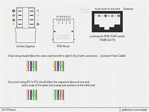 Amazing Printable Cat5 Wiring Diagram Network Rj11