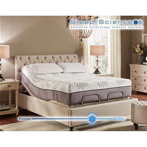 sleep science mattress sleep science ara 13 quot memory foam mattress with