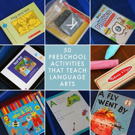 language arts for preschoolers language arts topics for preschool reading and phonics 185